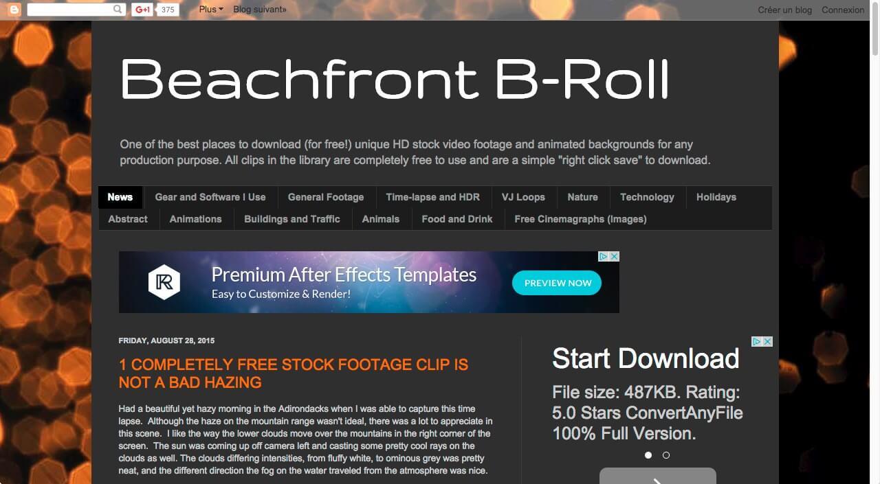 Beachfront Broll vidéos gratuites