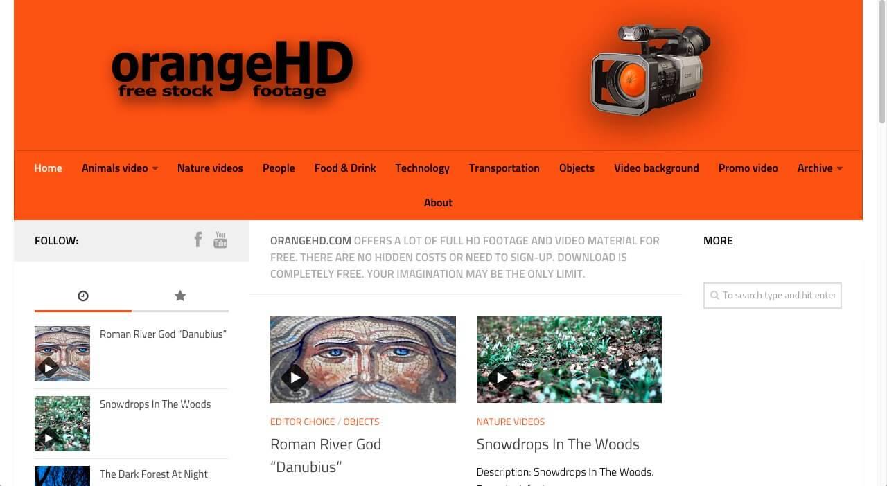 Orange HD vidéos gratuites